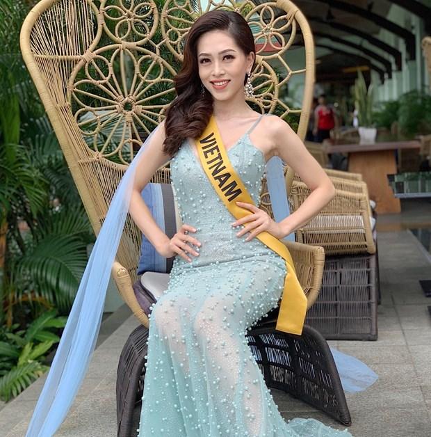 A hau Phuong Nga va no luc noi bat tai Miss Grand International 2018 hinh anh 4