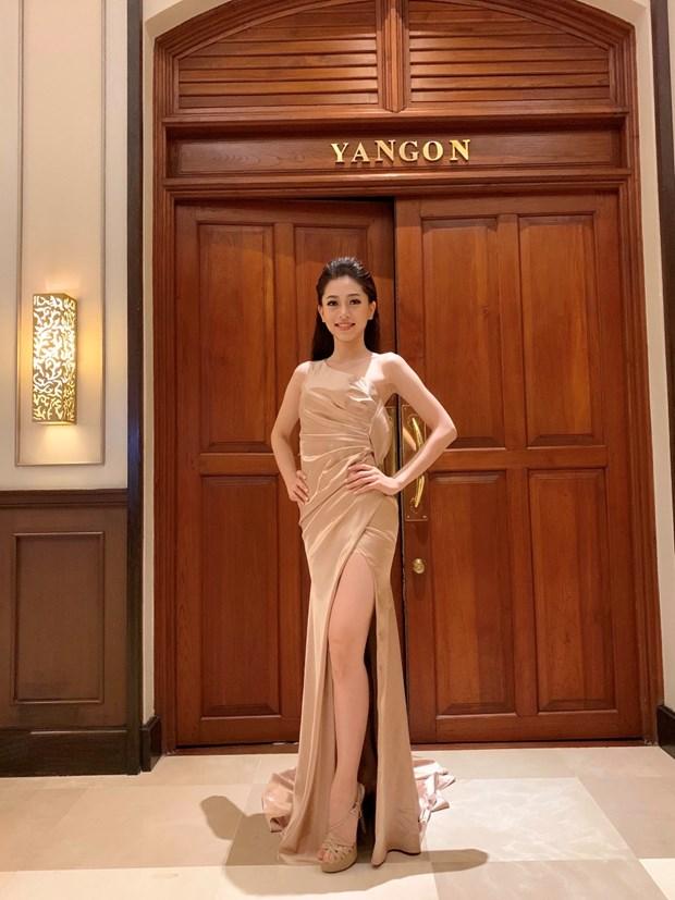 A hau Phuong Nga va no luc noi bat tai Miss Grand International 2018 hinh anh 6