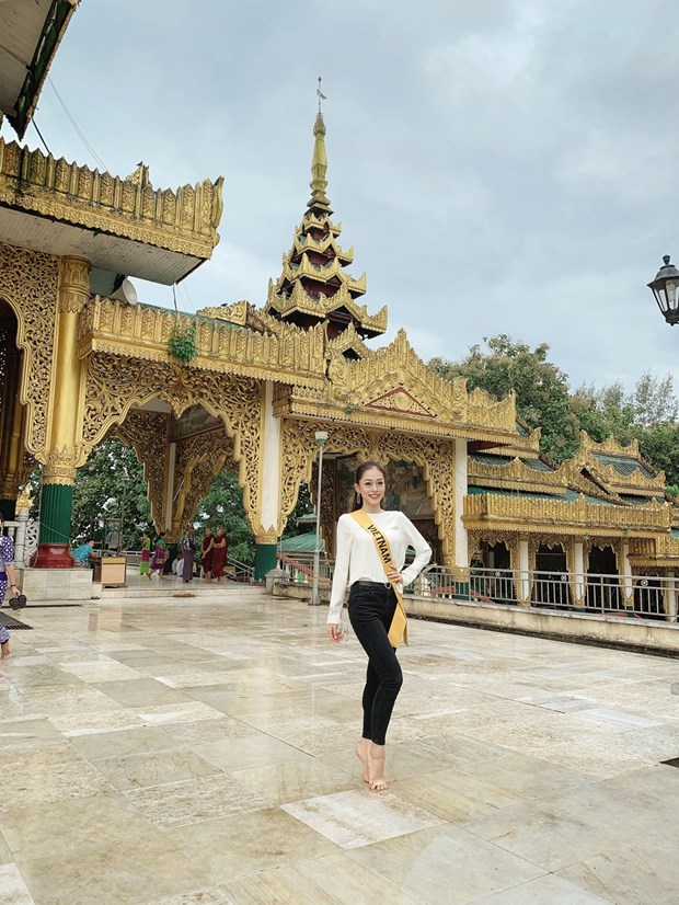 A hau Phuong Nga va no luc noi bat tai Miss Grand International 2018 hinh anh 7