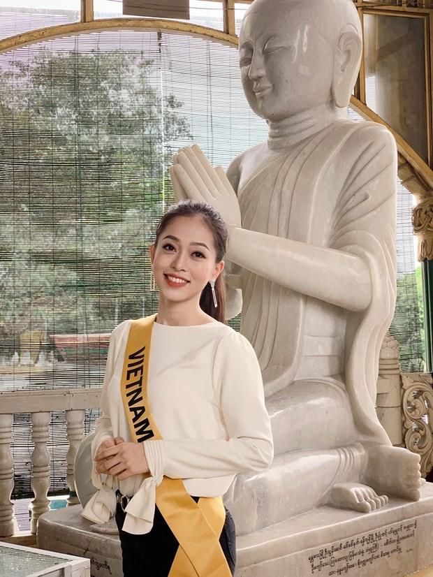 A hau Phuong Nga va no luc noi bat tai Miss Grand International 2018 hinh anh 8