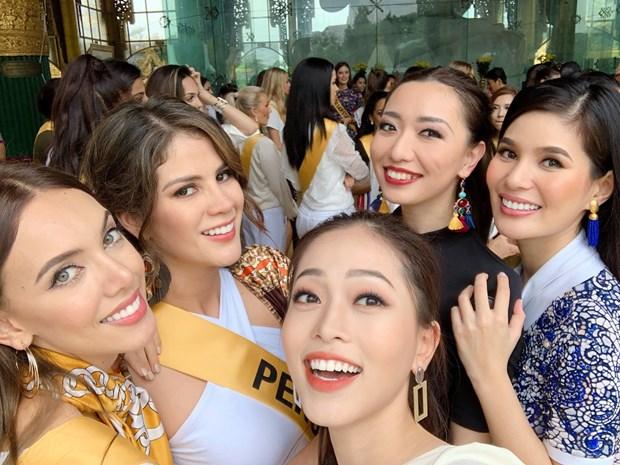 A hau Phuong Nga va no luc noi bat tai Miss Grand International 2018 hinh anh 9