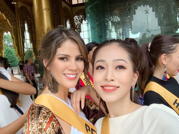 A hau Phuong Nga va no luc noi bat tai Miss Grand International 2018 hinh anh 10