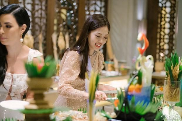 A hau Phuong Nga va no luc noi bat tai Miss Grand International 2018 hinh anh 13