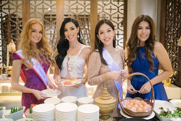 A hau Phuong Nga va no luc noi bat tai Miss Grand International 2018 hinh anh 15