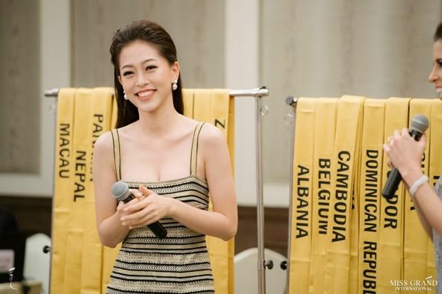 A hau Phuong Nga va no luc noi bat tai Miss Grand International 2018 hinh anh 1