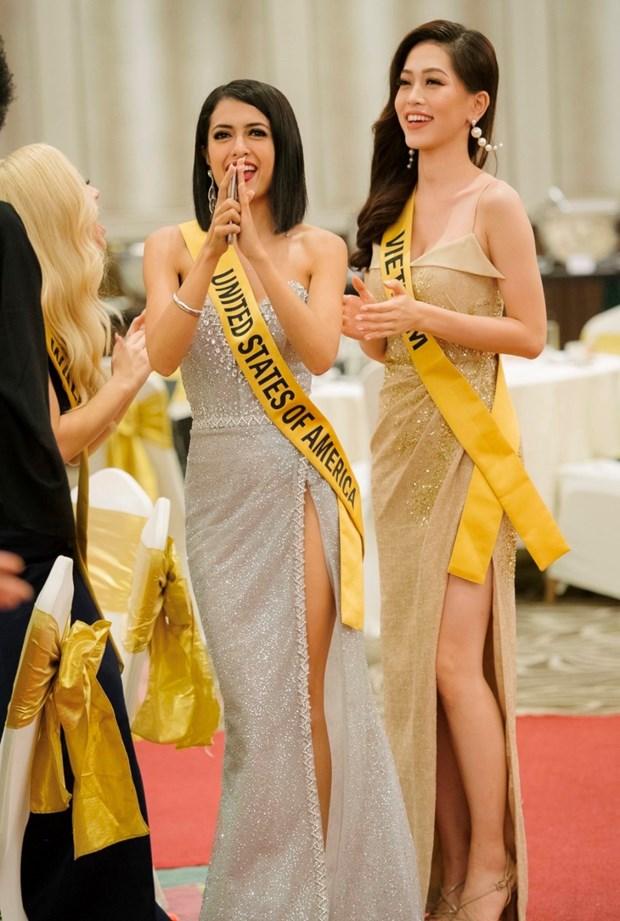 A hau Phuong Nga va no luc noi bat tai Miss Grand International 2018 hinh anh 31