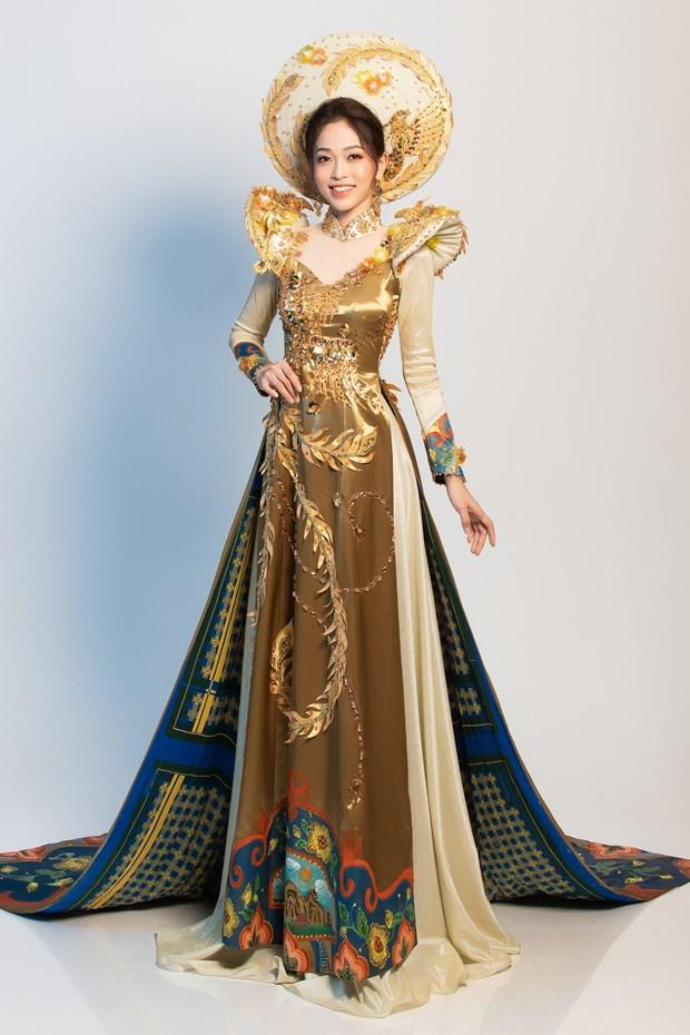 Ngam quoc phuc cua Phuong Nga tai cuoc thi Miss Grand International hinh anh 4