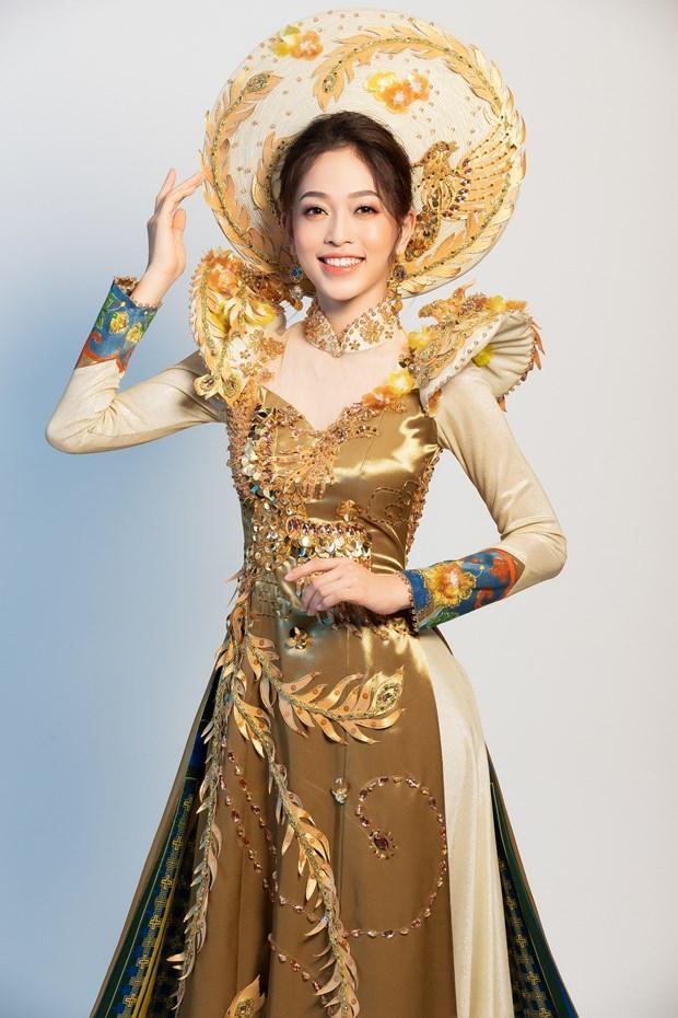 Ngam quoc phuc cua Phuong Nga tai cuoc thi Miss Grand International hinh anh 2
