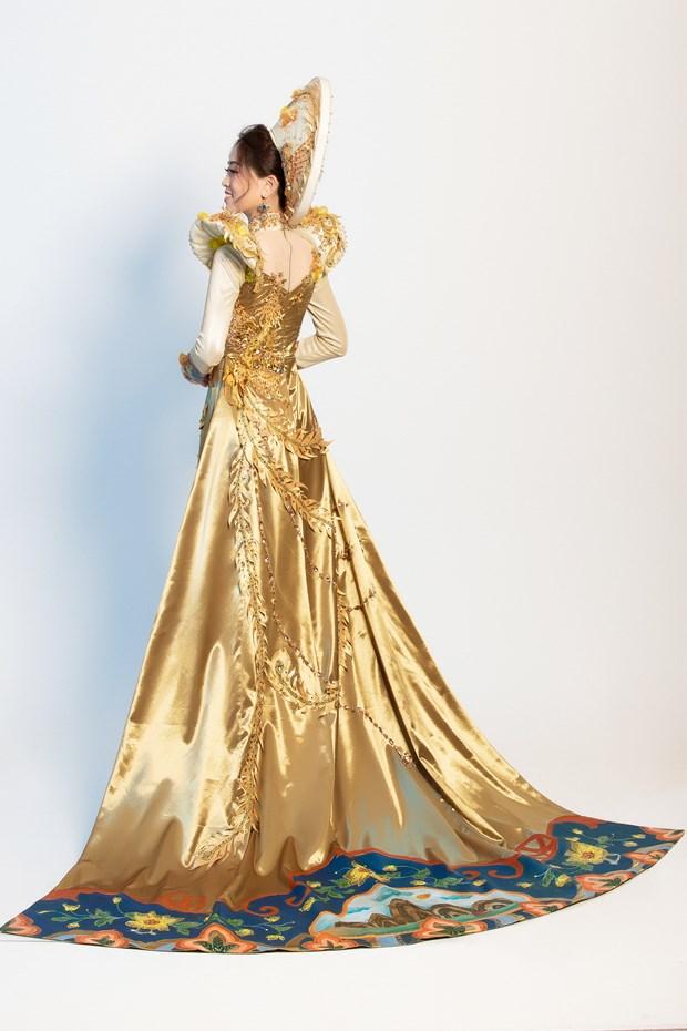 Ngam quoc phuc cua Phuong Nga tai cuoc thi Miss Grand International hinh anh 5