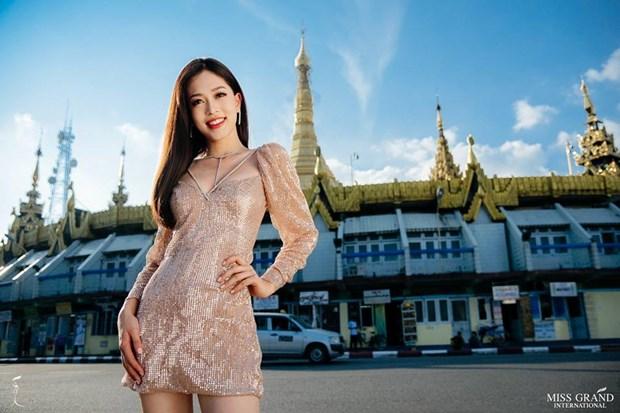 Phuong Nga dang dan dau binh chon anh tai Miss Grand International hinh anh 1