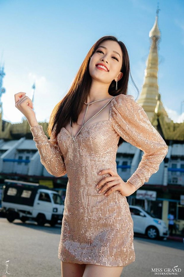 Phuong Nga dang dan dau binh chon anh tai Miss Grand International hinh anh 2