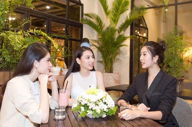 Thuy Tien rang ro truoc ngay len duong thi Miss International 2018 hinh anh 2