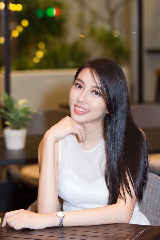 Thuy Tien rang ro truoc ngay len duong thi Miss International 2018 hinh anh 3