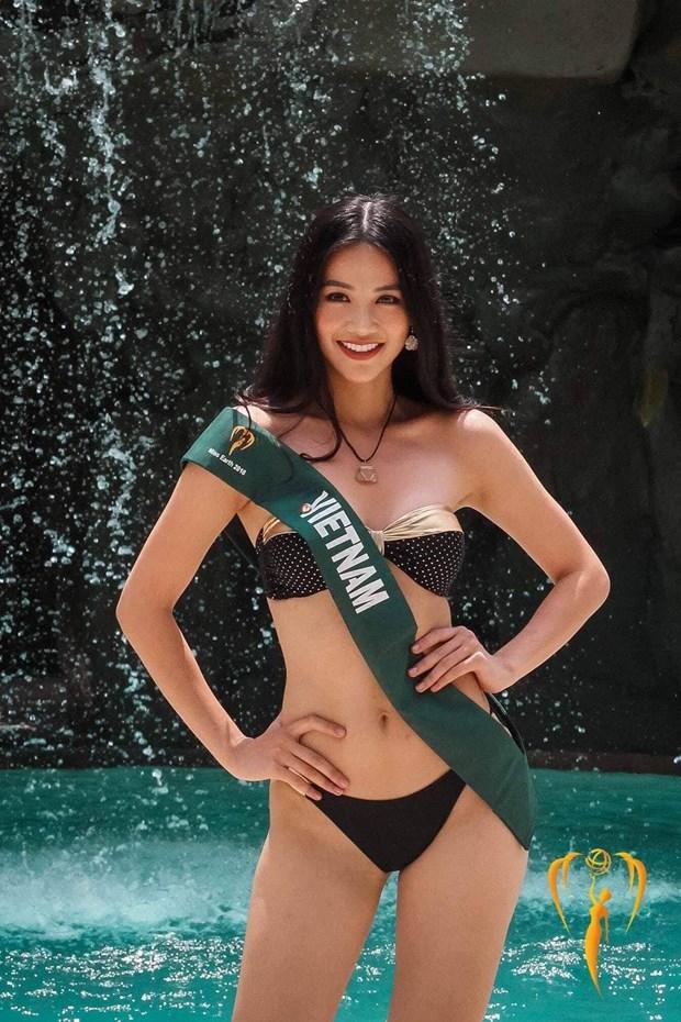 Miss Earth 2018: Phuong Khanh gianh huy chuong Bac phan thi bikini hinh anh 2