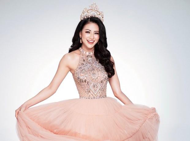 Miss Earth 2018: Bi kip de co vong eo 56 nhu dai dien nhan sac Viet hinh anh 1