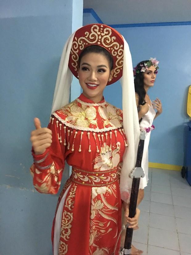 Phuong Khanh lien tiep gianh 4 giai thuong tai Miss Earth 2018 hinh anh 4