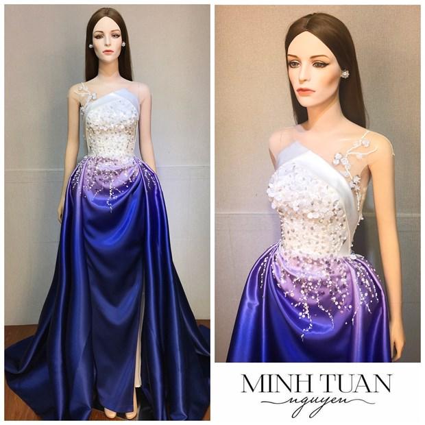 Miss International: Chuyen dac biet sau thiet ke da hoi cua Thuy Tien hinh anh 2