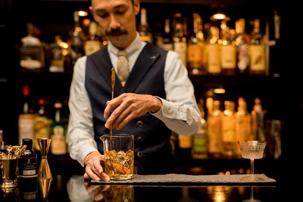Chuyen gia pha che hang dau dem huong vi cocktail dac biet toi Ha Noi hinh anh 1