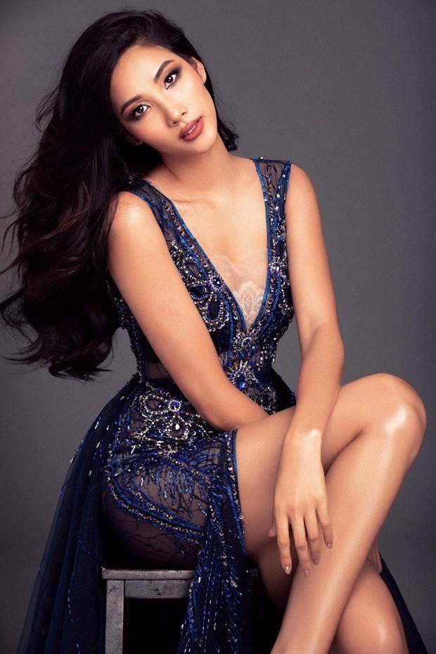A hau Hoang Thuy duoc de cu chinh thuc tham gia Miss Universe 2019 hinh anh 1