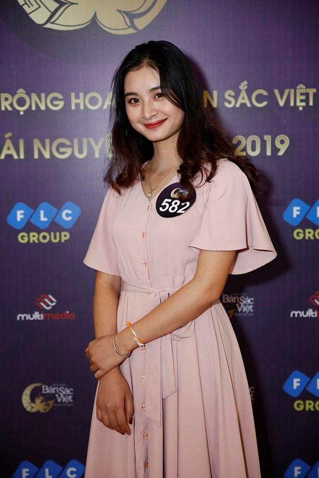 Hoa hau Ban sac Viet 2019: Xuat hien 'ban sao' Hoa hau Thu Ngan hinh anh 1