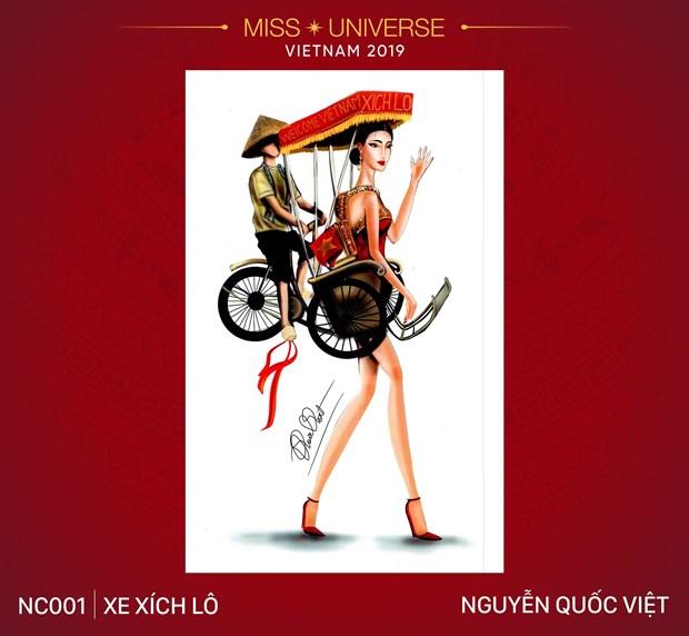 Nhung trang phuc dan toc an tuong vong tuyen chon cho Miss Universe hinh anh 1