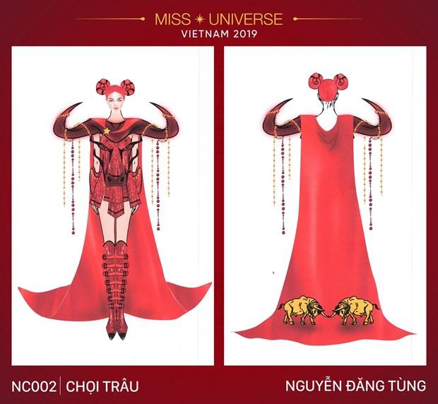 Nhung trang phuc dan toc an tuong vong tuyen chon cho Miss Universe hinh anh 2