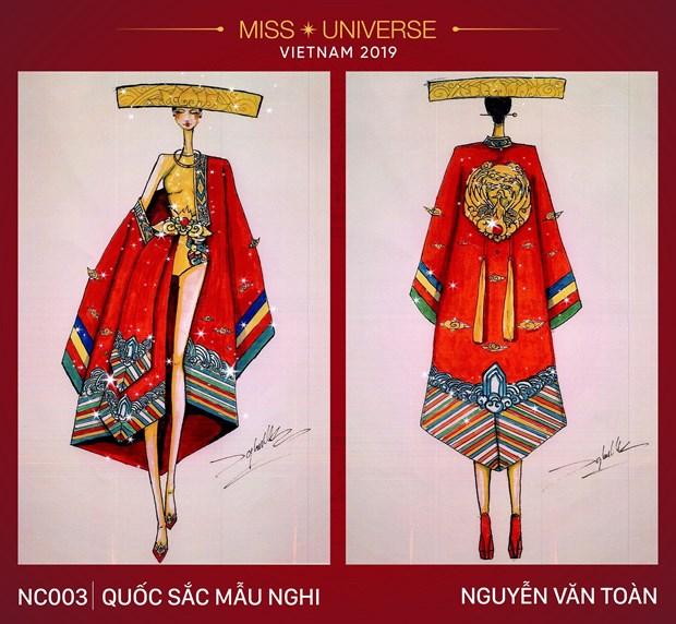 Nhung trang phuc dan toc an tuong vong tuyen chon cho Miss Universe hinh anh 3