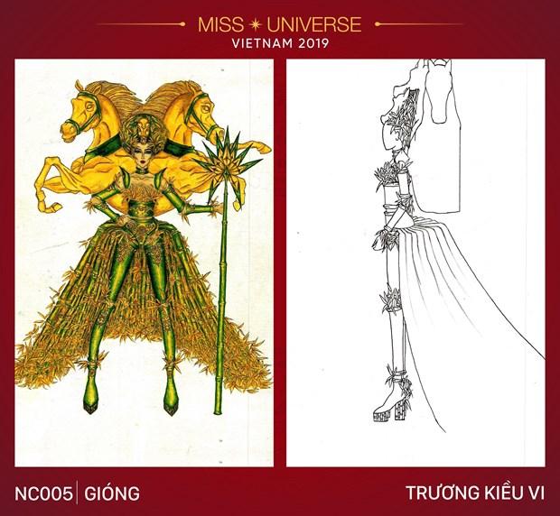 Nhung trang phuc dan toc an tuong vong tuyen chon cho Miss Universe hinh anh 5