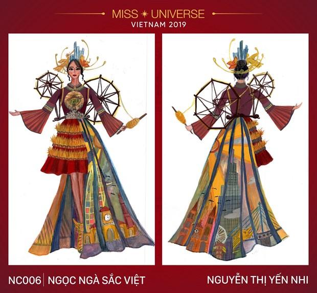 Nhung trang phuc dan toc an tuong vong tuyen chon cho Miss Universe hinh anh 6