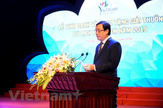 VietnamPlus duoc trao tang Giai thuong Du lich Viet Nam 2019 hinh anh 3