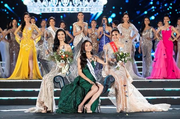 Top 3 Miss World Việt Nam 2019. (Ảnh: BTC)
