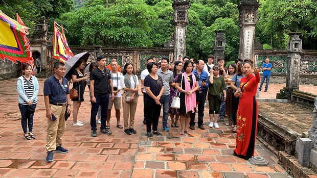 Ninh Binh: Thoi cua du lich hang dong trong long di san the gioi hinh anh 2