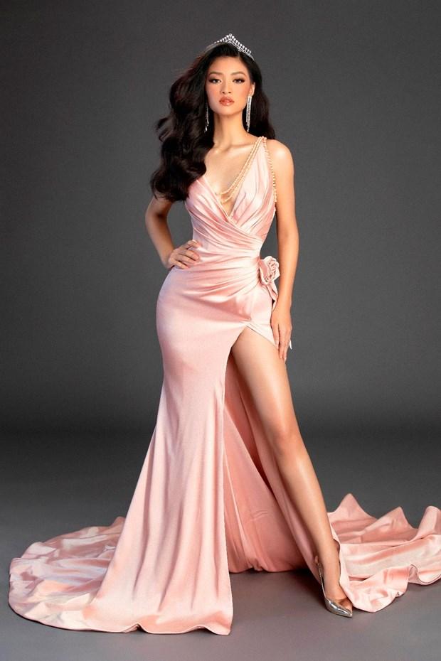 Miss Grand International tung clip tu gioi thieu cua A hau Kieu Loan hinh anh 1
