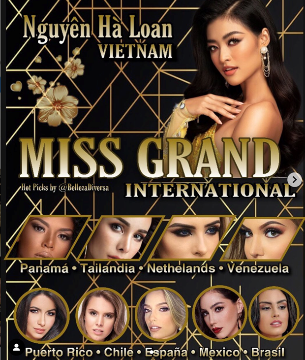 Miss Grand International: A hau Kieu Loan dan dau top binh chon online hinh anh 1