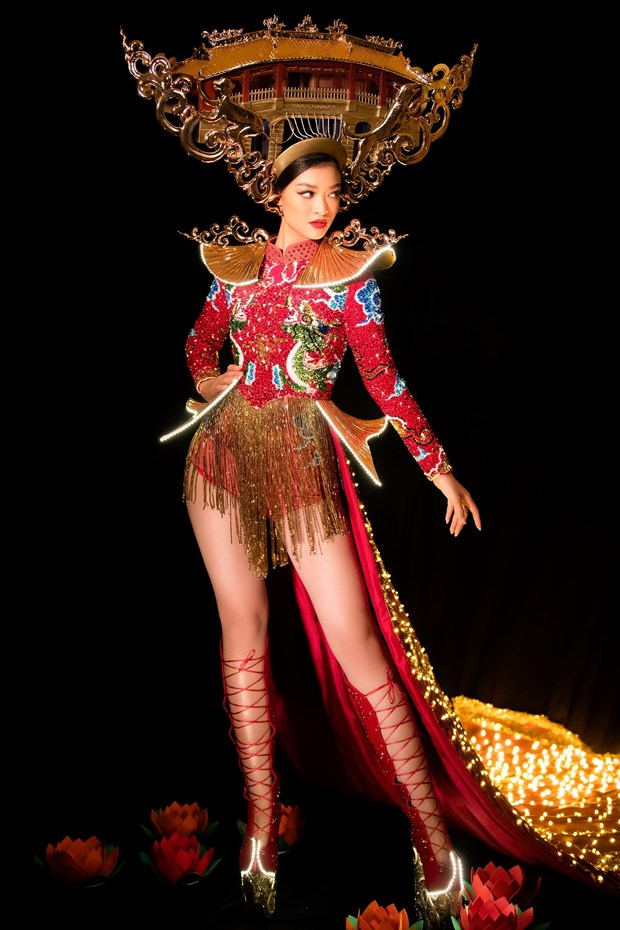 Miss Grand International: Chuyen gia quoc te het loi khen Kieu Loan hinh anh 1