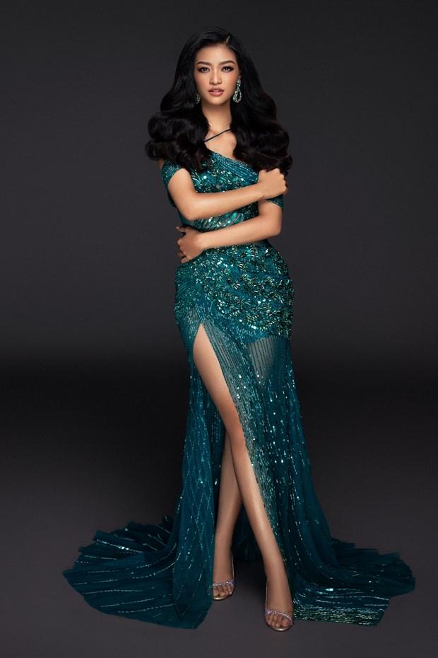 Kieu Loan sut 3 kg truoc them chung ket Miss Grand International hinh anh 1