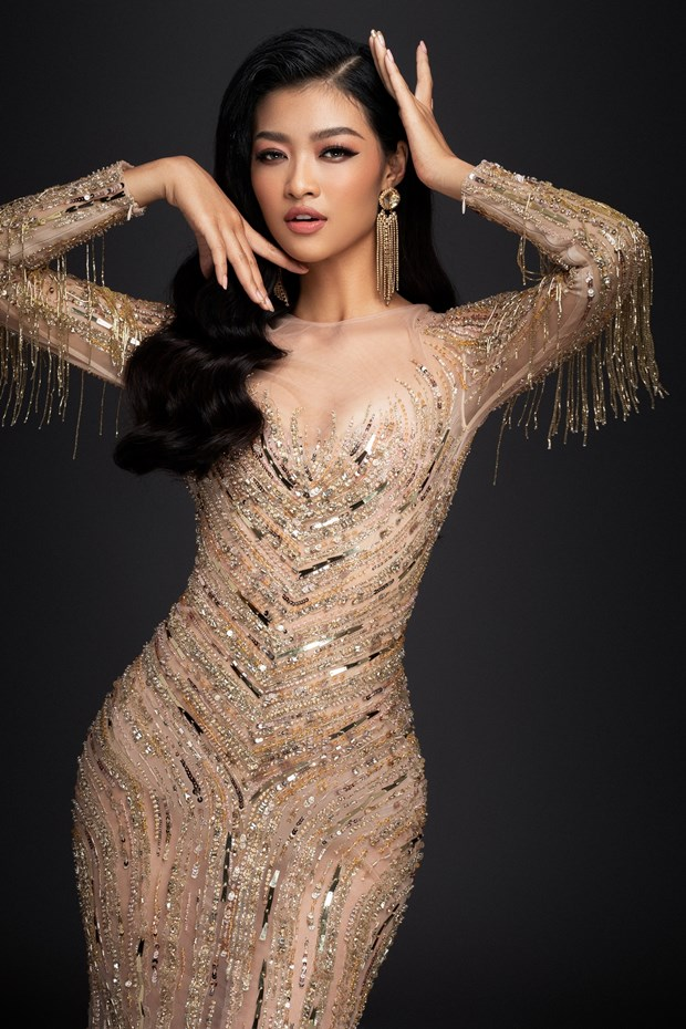 Kieu Loan sut 3 kg truoc them chung ket Miss Grand International hinh anh 3