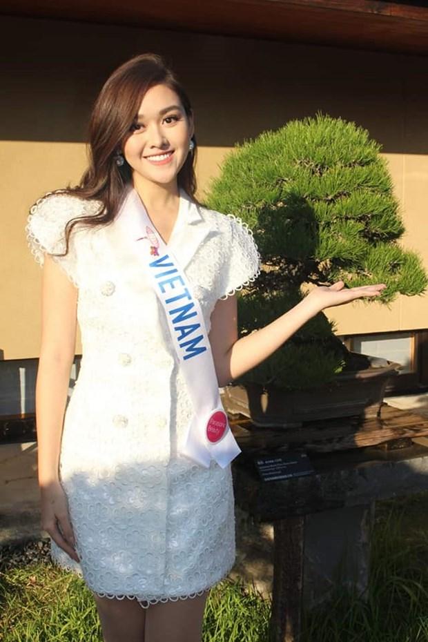 Miss International 2019: Tuong San the hien tai nang vu dao hinh anh 1