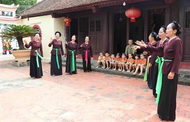 Nhieu hoat dong dac sac tai Tuan Van hoa, Du lich Bac Ninh-Ha Noi hinh anh 1