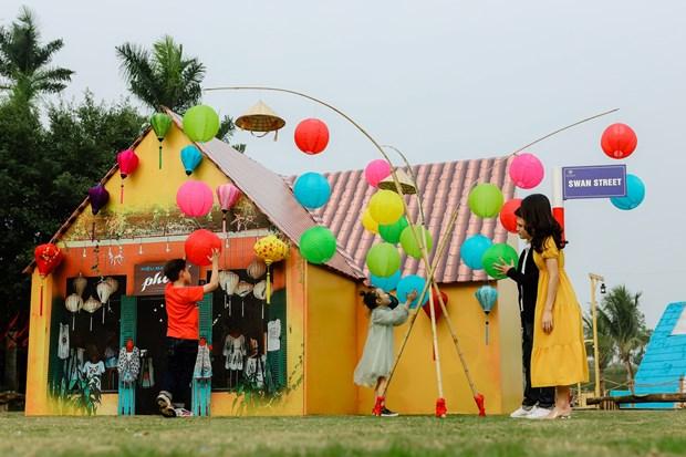 """Thuong thuc """"Ban giao huong mua Xuan"""" the gioi o Ecopark hinh anh 2"""