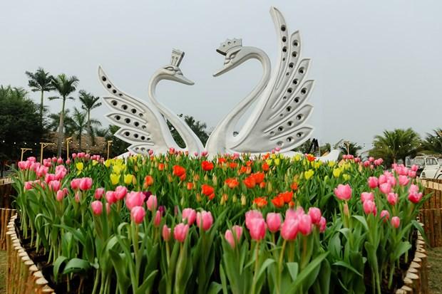 """Thuong thuc """"Ban giao huong mua Xuan"""" the gioi o Ecopark hinh anh 3"""