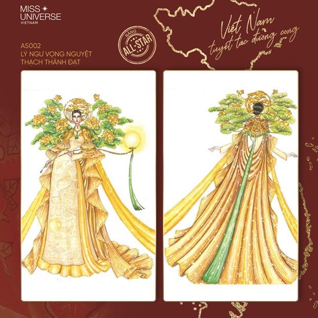 Miss Universe 2020: Nhung 'Tuyet tac duong cong' cho dai dien Viet Nam hinh anh 2
