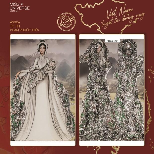 Miss Universe 2020: Nhung 'Tuyet tac duong cong' cho dai dien Viet Nam hinh anh 4