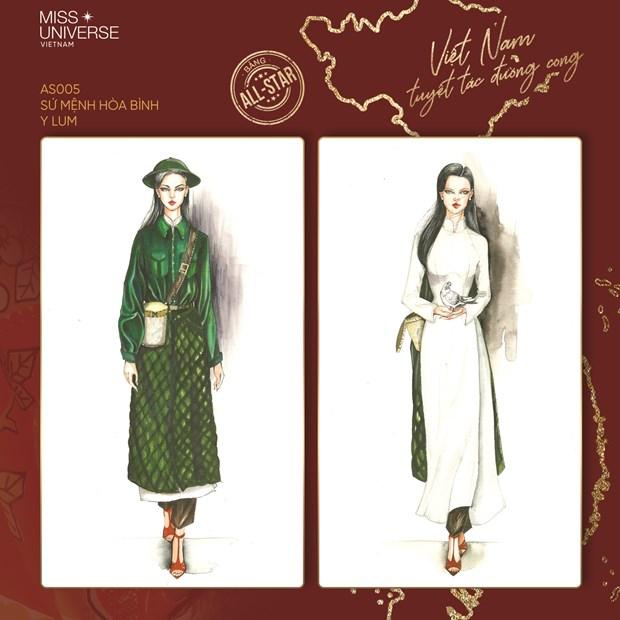 Miss Universe 2020: Nhung 'Tuyet tac duong cong' cho dai dien Viet Nam hinh anh 5