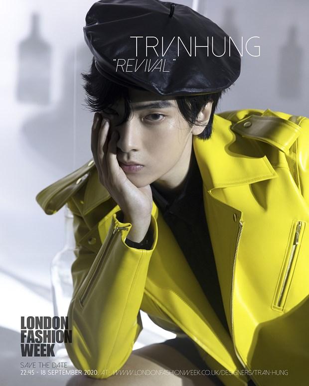He lo bo suu tap cua nha thiet ke Viet tai London Fashion Week 2020 hinh anh 5
