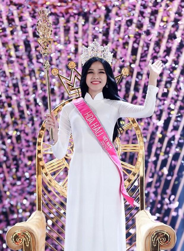 Nhan sac den tu Thanh Hoa dang quang Hoa hau Viet Nam nam 2020 hinh anh 1
