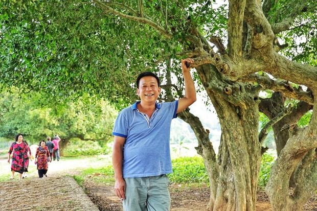 [Photo] Dung duoi vom duoi di san doc dao o xu Doai may trang bay hinh anh 8