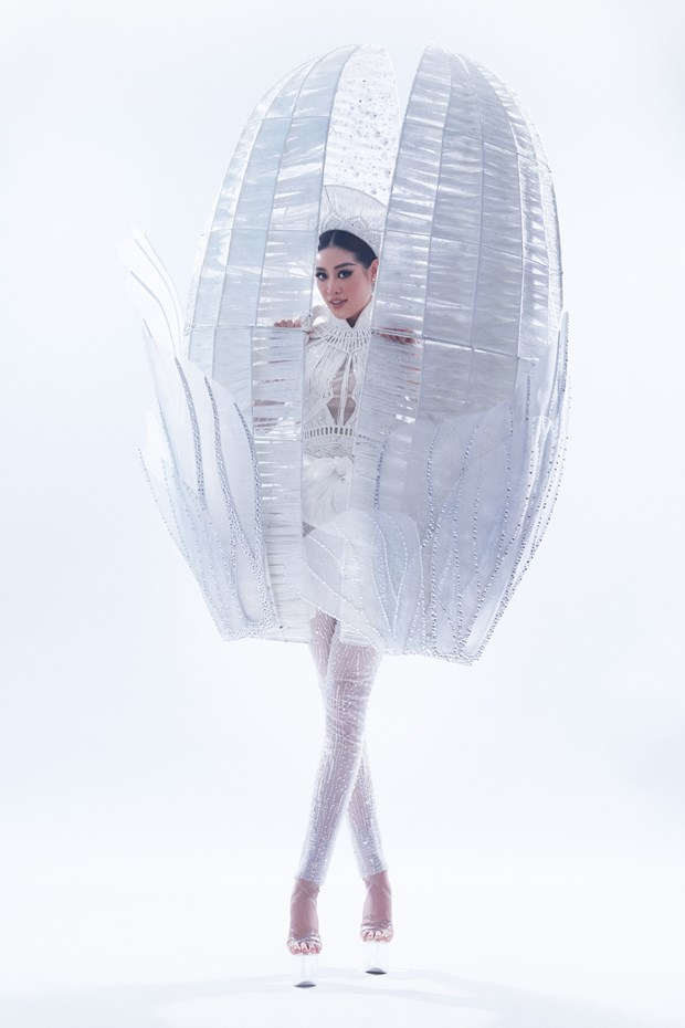 Miss Universe: Hoa hau Khanh Van da san sang trinh dien 'Ken Em' hinh anh 1