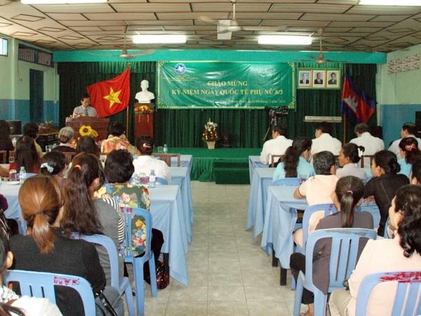 Tong Hoi nguoi Campuchia goc Viet ky niem ngay 8/3 hinh anh 1