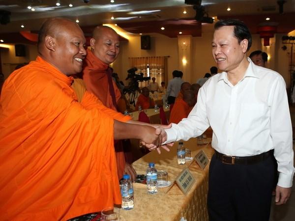 Pho Thu tuong chuc Tet co truyen Chol Chnam Thmay hinh anh 1